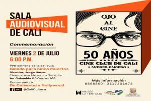 Cine Club de Cali conmemora 50 años, conozca la programación
