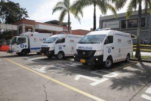 Cali recibe tres unidades de criminalística con tecnología para atender siniestros