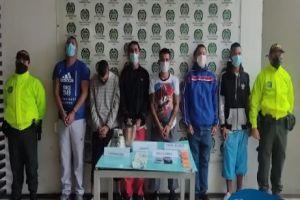 Desarticulada banda y capturados dos peligrosos delincuentes