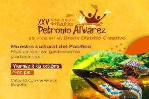 El sabor del Pacífico del Petronio Álvarez llega al Bronx Distrito Creativo